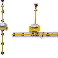 Battery-powered Vacuum Lifting Device Kombi 7011-D SO07 for production and workshop