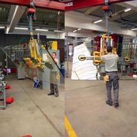Vakuumheber 7025-MS4/E – damit bewegen Sie bis 400 kg schwere Glasscheiben