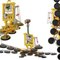 Kombi 7211-DS3-2012 – batteriebetriebener Vakuumheber für die Baustelle