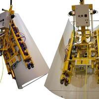 Der Akku-Vakuum-Lifter Kombi 7441-DSG für Baustelle, Produktion und Werkstatt