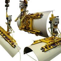 Vakuumhebegerät (Vakuumlifter) Kombi 7231-DmSG für Baustelle, Produktion und Werkstatt