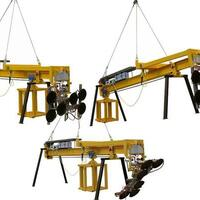 Glazing Unit / Counterweight Unit BALANCE 6 und Battery-powered Vacuum Lifting Device (Vacuum Lifter) Kombi 7011-DS for the construction site