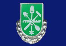 1975 -  silberne Ehrennade des Glaserhandwerks für Karl Pannkoke