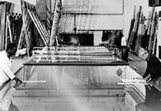 Pannkoke glass cutting processing line – approx. year of construction 1970