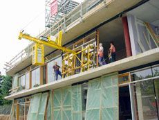 Counterweight Unit Balance - the special Vacuum Lifter in use