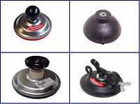 Fastener suction cups