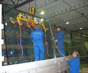 Use of a Kombi 7011-AL at City Glass in Russia