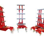 Der Super Heavy Duty Roller – der Plattentransporter - für die wirklich schweren Elemente.