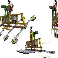 Das Vakuumhebe-Gerät Kombi 7231-C-1000 für Baustelle und Werkstatt