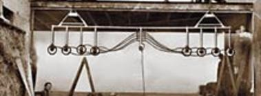 Vakuumhebegerät im Jahr 1958