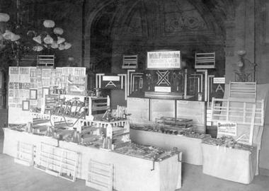 The exhibition stand of Wilhelm Pannkoke