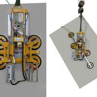 Vakuumheber 7025-MD4/E – damit bewegen Sie bis 500 kg schwere Glasscheiben