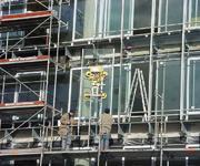Doppelglasfassade des Deichtor Center