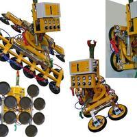 Akku-Vakuumhebegerät (Vakuumlifter) Kombi 7411-DS SO01 für Baustelle und Werkstatt