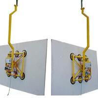 Battery-powered Vacuum Lifter Kombi 7011-D43 SO01 for production and workshop