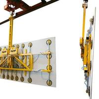 Battery-powered Vacuum Lifting Device (Vacuum Lifter) Kombi 7411-CeDe for construction site and workshop