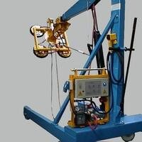 Glazing Unit Elefant for the construction site, the moveable Vacuum Lifter