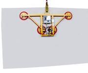 Kurz vorgestellt der Vakuumheber 7011-AB-lite für das Glaslager