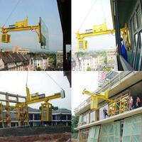 Glazing Unit / Counterweight Unit BALANCE for the construction site - the Vacuum Lifter for special tasks