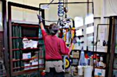 window production at Michael Leuning