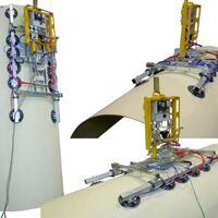Akku-Vakuumhebegerät (Vakuumlifter) Kombi 7211-DSG5-2012 für Baustelle und Werkstatt