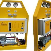 Vakuumeinheit 7212-Handy3 für Baustelle und Werkstatt - die Akku-Vakuum-Pumpe