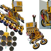 Battery-powered Vacuum Lifting Device (Vacuum Lifter) Kombi 7411-DS SO01 for construction site and workshop
