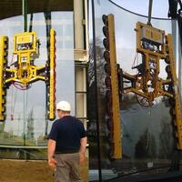 Battery-powered Vacuum Lifting Device Kombi 7211-DSG3 for construction site and workshop